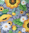 Snuggle Flannel Fabric -Sunflowers