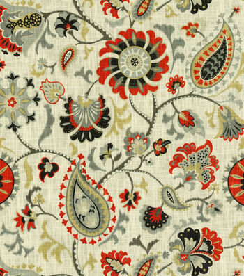 "Waverly Upholstery Fabric 54""-Siren Song Graphite"