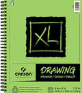 Canson XL 9\u0027\u0027x12\u0027\u0027 60 Sheets Spiral Drawing Pad