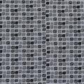 Keepsake Calico Cotton Fabric-Dark Gray Spaced Tiles