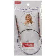 "Deborah Norville Fixed Circular Needles 24"" Size 10/6.0mm, , hi-res"