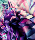 Silky Prints Fabric -Brushstrokes