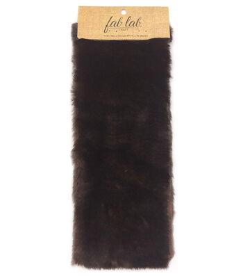 """Fab Lab 9""""x12"""" Craft Faux Fur-Ultra Soft Mink"""