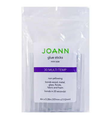 Joann Glue Sticks 30pc Mini Multi Temp 4""