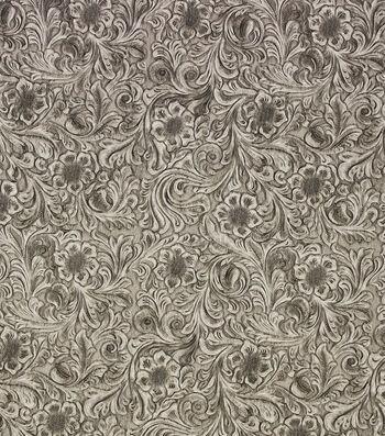 "Richloom Studio Upholstery Vinyl Fabric 60""-Diviani Stone"