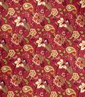 Home Decor 8\u0022x8\u0022 Fabric Swatch-SMC Designs Fogarty / Garnet