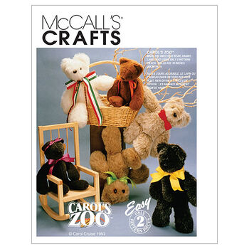 McCall's Crafts Animals-M6188