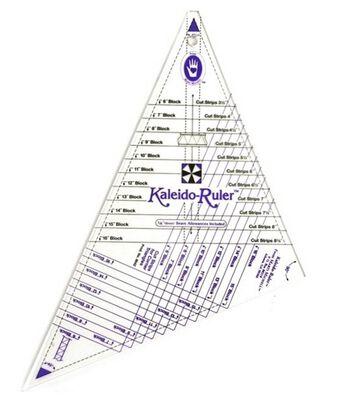 """Large Kaleido-Ruler-6"""" To 16"""" Blocks"""