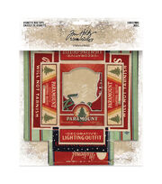 "Idea-Ology Vignette Box Tops 5/Pkg-Christmas 2.25""X3.25"" To 4""X5.5"", , hi-res"