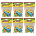 Happy Faces Wristbands, 10 Per Pack, 6 Packs