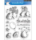 Penny Black Clear Stamps 5\u0022X7.5\u0022 Sheet-Wonderful