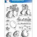 Penny Black Clear Stamps 5\u0022X7.5\u0022 Sheet-Wonderful