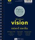 Strathmore 5.5\u0022x8.5\u0022 Vision Mixed Media Pad