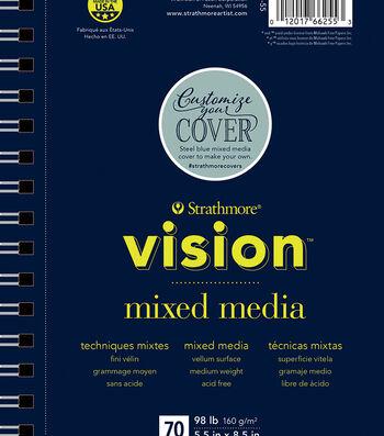 "Strathmore 5.5""x8.5"" Vision Mixed Media Pad"