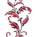 Stamperia Stencil G 8.27\u0027\u0027x11.69\u0027\u0027-Volute