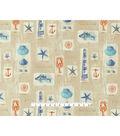 P/K Lifestyles Outdoor Print Fabric 54\u0027\u0027-Beach Comber Dune