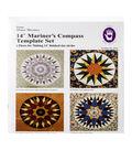Marti Michell 6 pk 14\u0027\u0027 Templates-Mariner\u0027s Compass