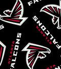 Atlanta Falcons Fleece Fabric 58\u0027\u0027