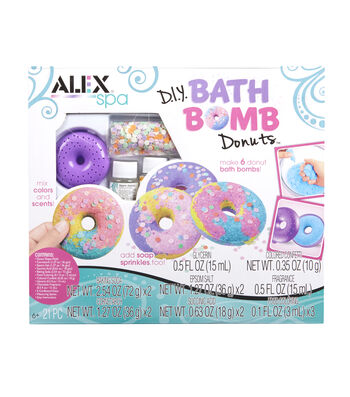 DIY Bath Bomb Donuts