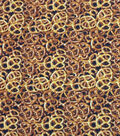 Novelty Cotton Photo Real Fabric 44\u0022-Pretzels
