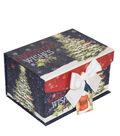 Maker\u0027s Holiday Christmas Small 2 Fliptop Storage Box-Classic Santa