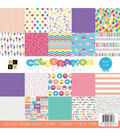 DCWV 12\u0027\u0027x12\u0027\u0027 Single-Sided Cardstock Stack-Celebration