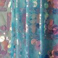 Let\u0027s Pretend Sequin Fabric-Iridescent Checkered