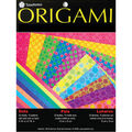 Fold \u0027Ems Origami Paper 5.875\u0022 20/Pkg- Dots with Pearlescent Colors