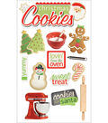 Christmas 3-D Stickers-Cookies
