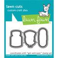 Lawn Fawn Lawn Cuts Custom Craft Die-Get Well Soon