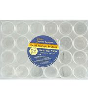 Bead Container 9.5x6 3/8x 1 1/8, , hi-res