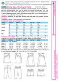 Mccall Pattern K3984 All Sizes -Kwik Sew Pattern