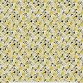 Keepsake Calico Cotton Fabric-Yellow Watercolor Floral
