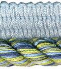Wav 3/8 3-ply Lip Cord 12yd Blue/green
