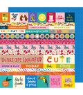 American Crafts Box of Crayons 25 pk 12\u0027\u0027x12\u0027\u0027 Cardstock-All the Things
