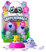 Hatchimals CollEGGtibles Collectible 2 Pk Toy Pet & Nest, , hi-res