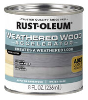Rust-Oleum Weathered Wood Accelerator 8oz-Grey, , hi-res