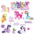 York Wallcoverings Wall Decals-My Little Pony the Movie