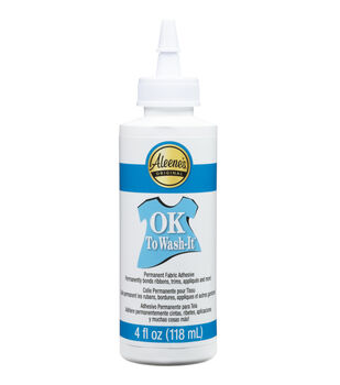 Aleene's OK To Wash-It Fabric Glue-4oz