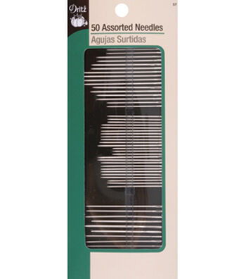 Dritz Assorted Needles 50 Count Multipack of 12