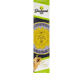 Leisure Arts Diamond Art Intermediate Kit 12''X12''-Sun Mandala