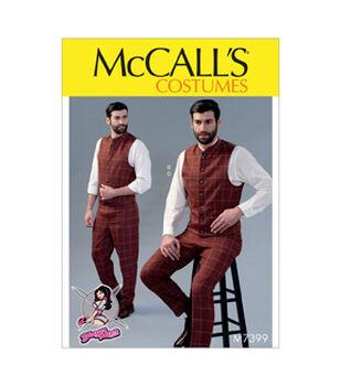McCall's Pattern M7399 Men's Vests & Pants-Size 46-52
