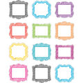 Teacher Created Resources Scribble Mini Accents, 36 Per Pack, 6 Packs