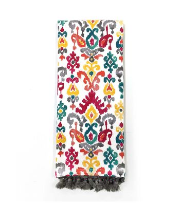 Hudson 43 Global Journey 16''x28'' French Terry Towel-Multicolor Ikat