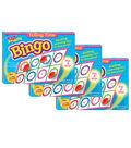 TREND enterprises, Inc. Telling Time Bingo Game, Pack of 3