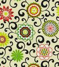 Waverly Outdoor Fabric-Sns Pom Pom Play  Jewel