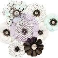 Prima Marketing Flirty Fleur Mulberry Paper Flowers 8/Pkg-Dreamer