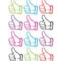 Thumbs Up Die Cut Magnet 12/pk, Set Of 6 Packs