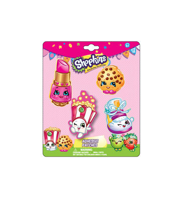 Shopkins Adhesive Patches-Pack of 4