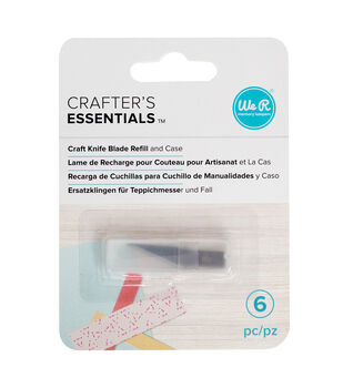 We R Memory Keepers Crafter's Essentials Craft Knife Blade Refill & Case